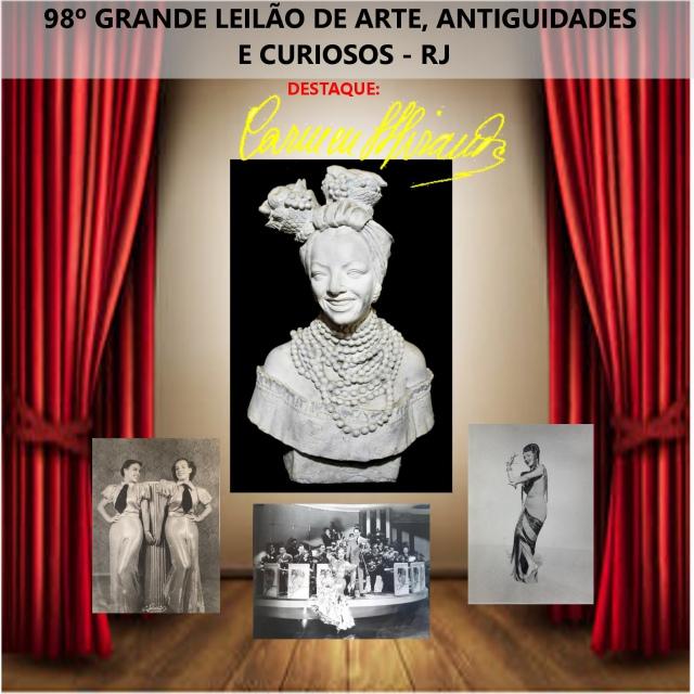 98º LEILÃO DE ARTE, ANTIGUIDADES E CURIOSOS - RJ