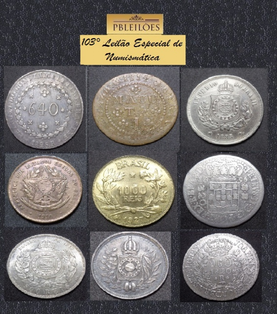 103º Leilão Especialíssimo de Numismática