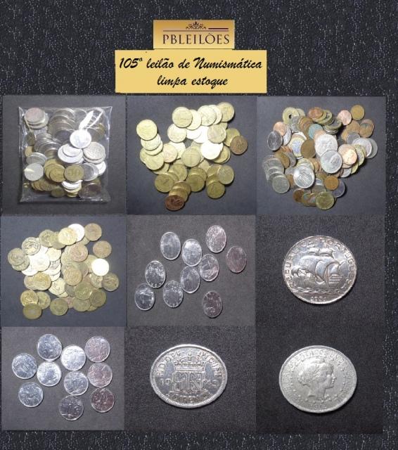 105º Leilão de Numismática Pbleiloes - Limpa Estoque