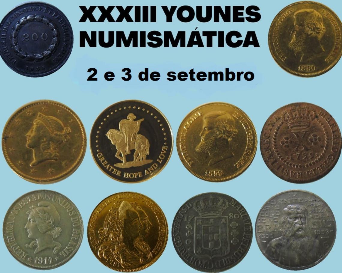 XXXIII LEILÃO YOUNES NUMISMÁTICA