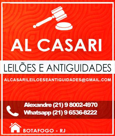 LEILÃO AL CASARI, ARTES E ANTIGUIDADES, AGOSTO 2020