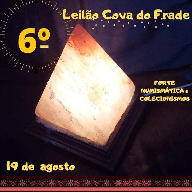 LEILÃO COVA DO FRADE-FORTE NUMISMÁTICA E COLECIONISMO (AGOSTO)
