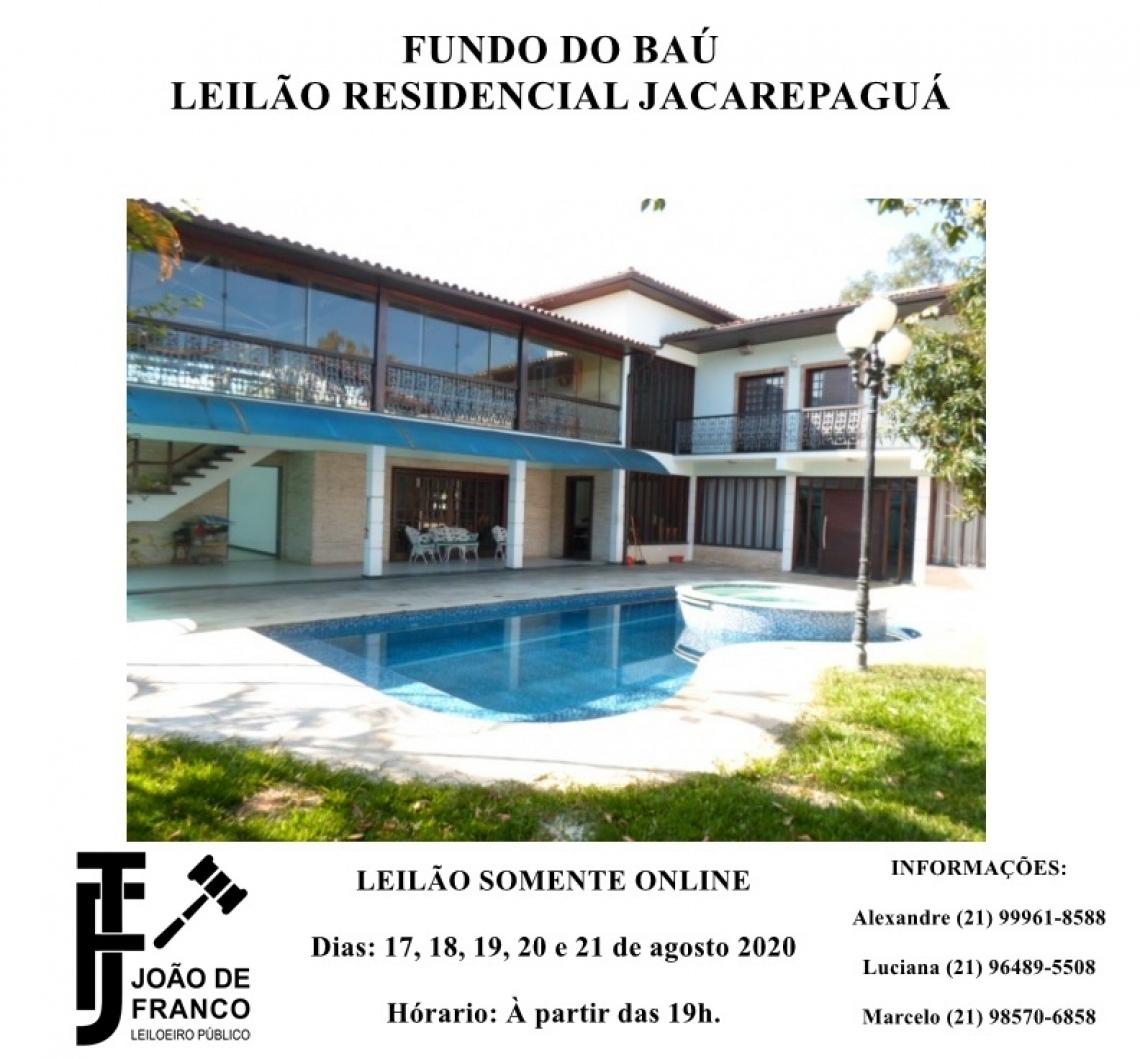 FUNDO DO BAÚ - GRANDE LEILÃO RESIDENCIAL JACAREPAGUÁ / ANIL