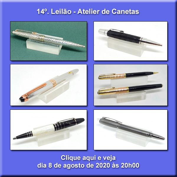 14º Leilão Atelier de Canetas - 8/08/2020 - 20h00