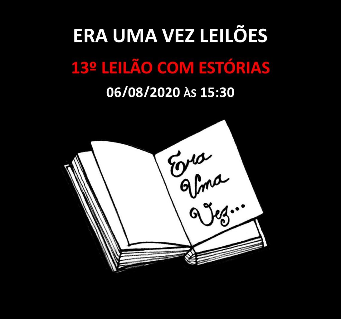 13º LEILÃO COM ESTÓRIAS - 06/08/2020 às 15h30