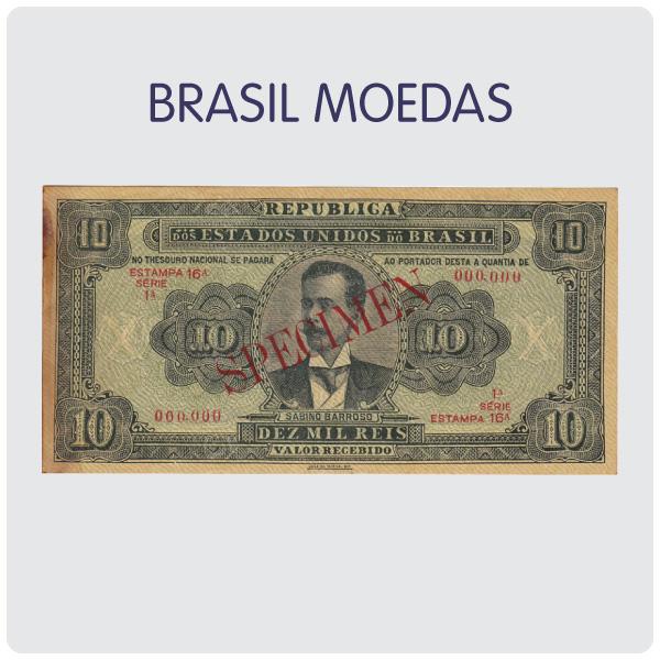 Leilão de Cédulas e Moedas do Brasil