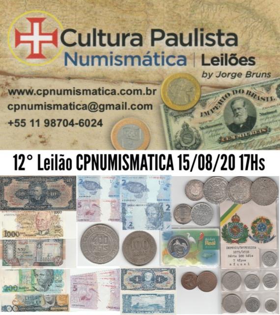 12º LEILÃO CULTURA PAULISTA NUMISMÁTICA