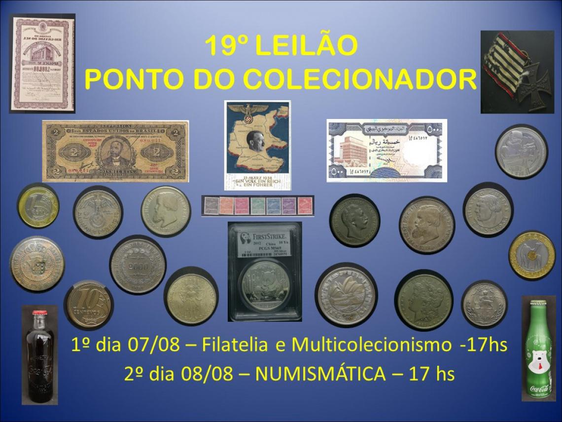 19º LEILÃO PONTO DO COLECIONADOR
