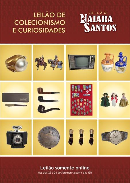 LEILÃO DE COLECIONISMO E CURIOSIDADES