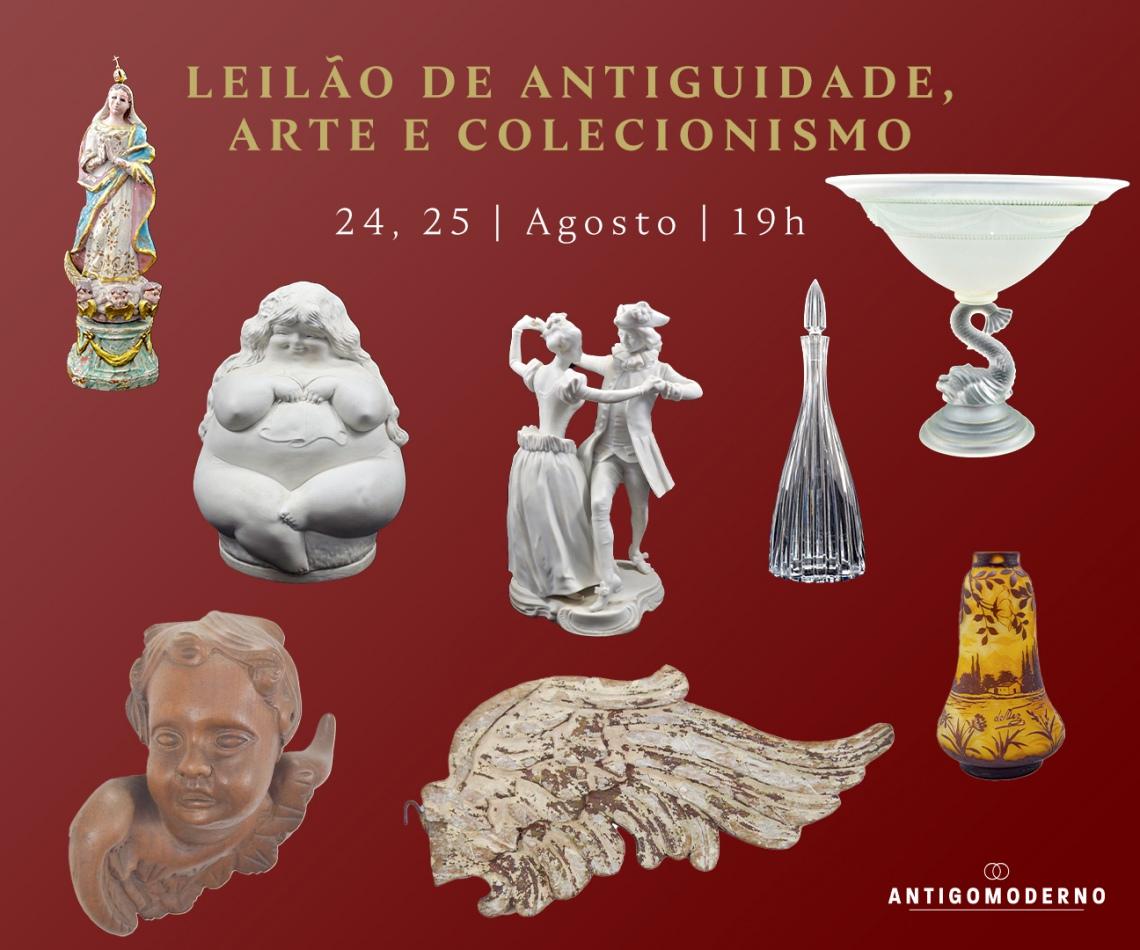 LEILÃO DE ANTIGUIDADE, ARTE E COLECIONISMO