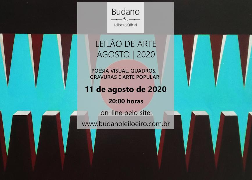 LEILÃO DE ARTE - AGOSTO 2020