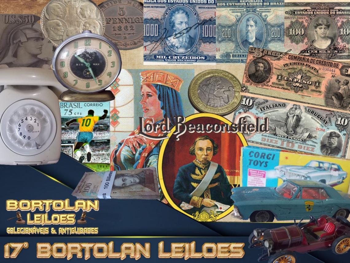 17º LEILÃO BORTOLAN DE COLECIONÁVEIS E ANTIGUIDADES