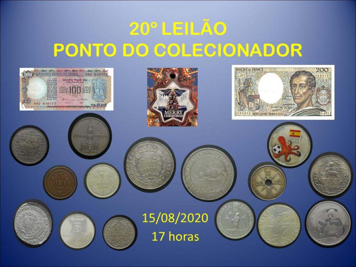 20º LEILÃO PONTO DO COLECIONADOR
