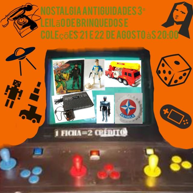 3º Leilão De Brinquedos e coleções