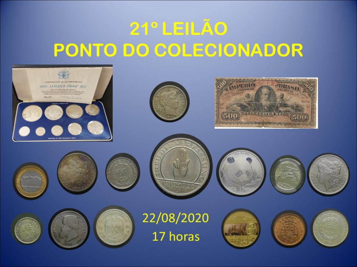 21º LEILÃO PONTO DO COLECIONADOR