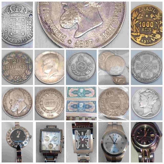 25º Leilão - Numismart - Moedas, Cédulas, Medalhas e Token´s, Relógios