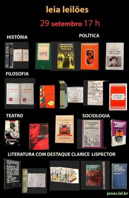 LIVROS DE POLÍTICA SOCIOLOGIA FILOSOFIA HISTÓRIA LITERATURA DESTAQUE CLARICE LISPECTOR MUITOS RAROS