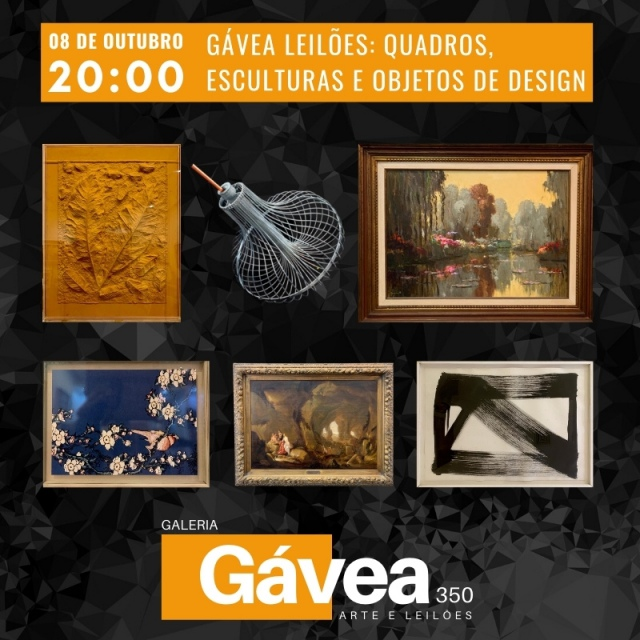GÁVEA LEILOES QUADROS, ESCULTURAS E OBJETOS DE DESIGN