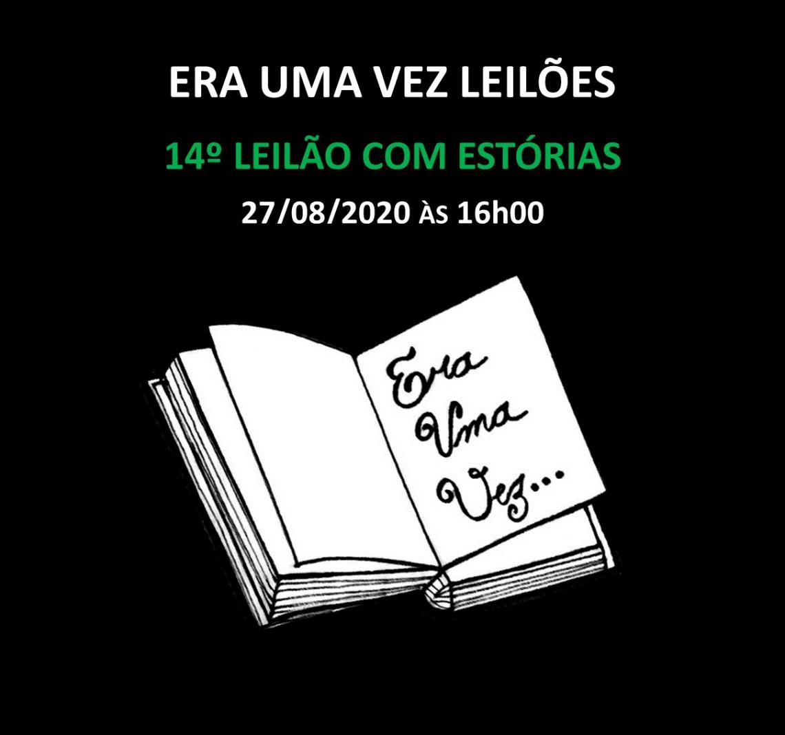 14º LEILÃO COM ESTÓRIAS - 27/08/2020 às 16h00