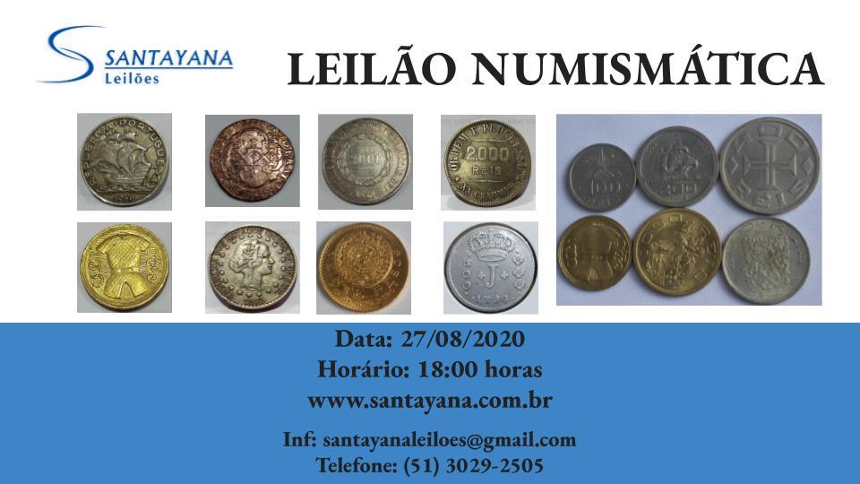 LEILÃO DE NUMISMÁTICA