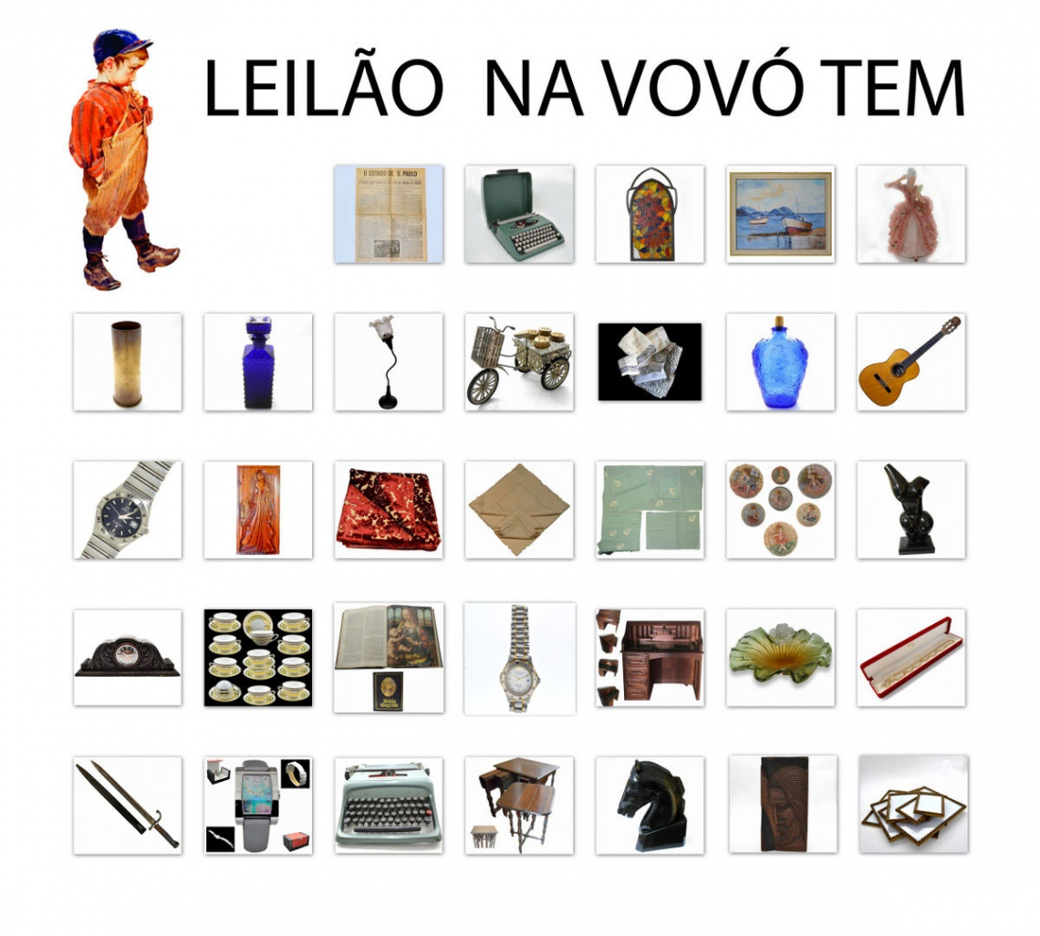 NA VOVÓ TEM - Artes, Colecionismo, Decoração, Presentes  e Móveis