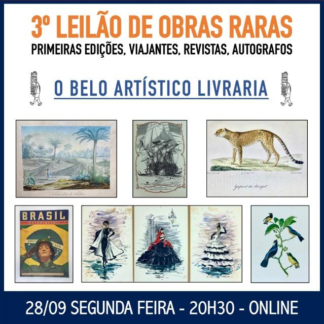 2º LEILÃO DE LIVROS E REVISTAS ESPECIAIS/RAROS - O Belo Artístico