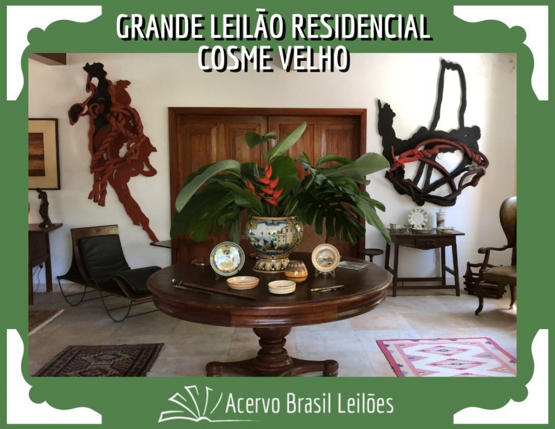 GRANDE LEILÃO RESIDENCIAL COSME VELHO - SETEMBRO 2020