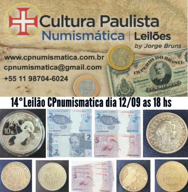 14º LEILÃO CULTURA PAULISTA NUMISMÁTICA