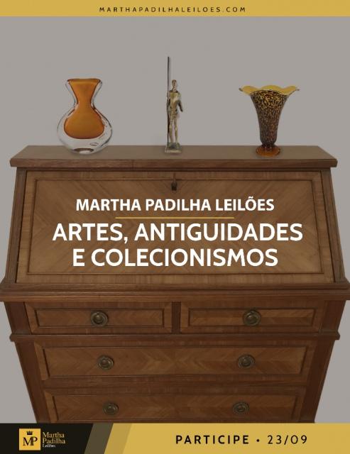 LEILÃO DE ARTE, ANTIGUIDADE E COLECIONISMO