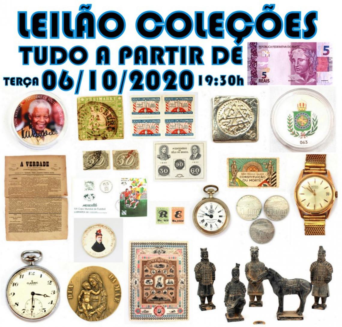 LEILÃO COLEÇÕES