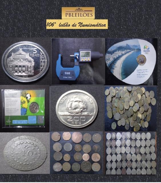 106º Leilão de Numismática Pbleiloes