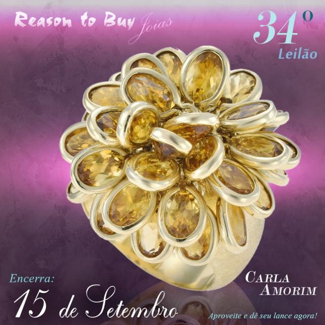 34º Leilão de Joias da Reason to Buy Joalheria