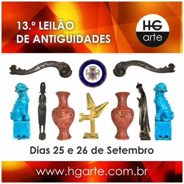 HG ARTE - 13.º LEILÃO DE ARTE E ANTIGUIDADES