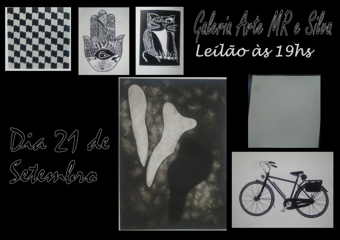 LEILÃO 16767 GALERIA ARTE MR E SILVA