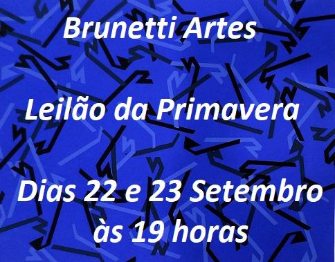 BRUNETTI - LEILÃO DE ARTE E ANTIGUIDADES