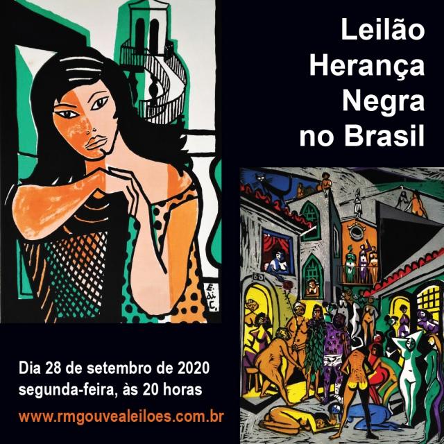 Leilão Herança Negra no Brasil - 28/9/20 às 20h