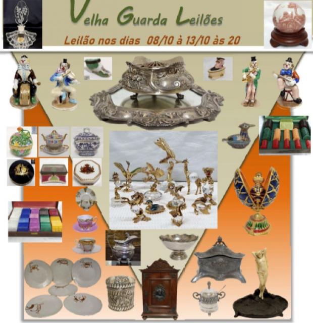 47º LEILÃO VELHA GUARDA LEILÕES - Arte, Antiguidades, Decoração e Colecionismo