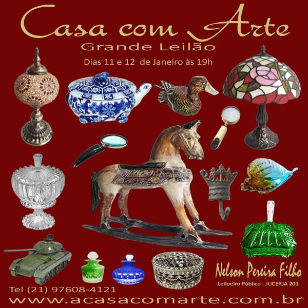 LEILÃO CASA COM ARTE - JANEIRO 2021