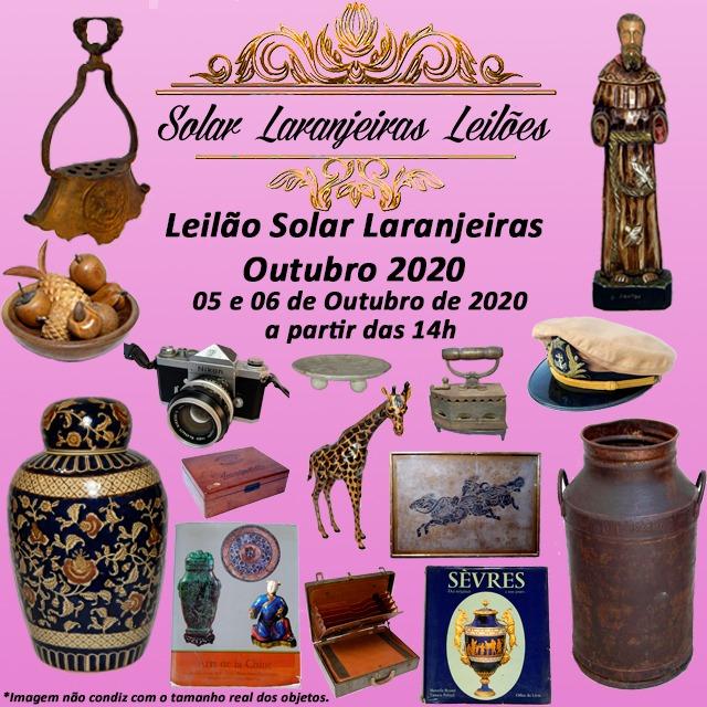 LEILÃO SOLAR LARANJEIRAS - OUTUBRO 2020.