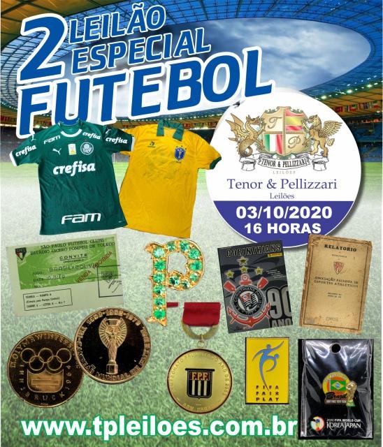 2º Leilão Especial de Futebol