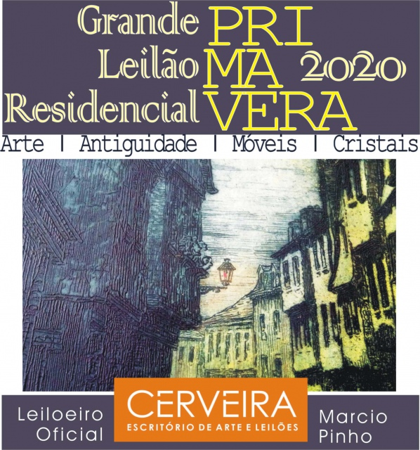 LEILÃO DA PRIMAVERA 2020   ARTE | ANTIGUIDADES | MÓVEIS | CRISTAIS