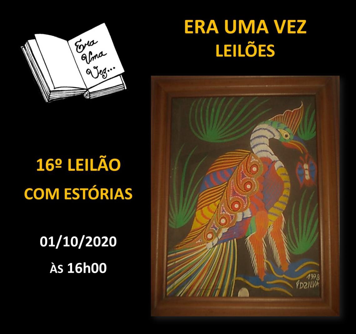 16º LEILÃO COM ESTÓRIAS - 01/10/2020 às 16h00
