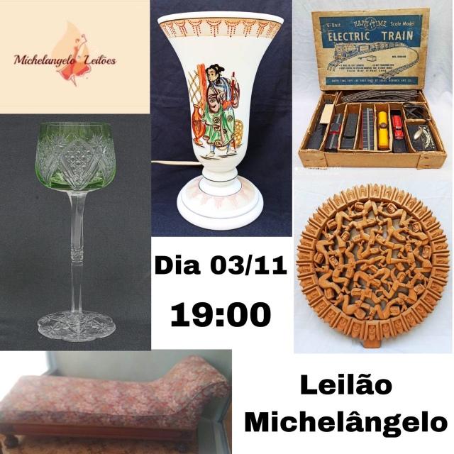 LEILÃO MICHELANGELO - NOVEMBRO 2020.