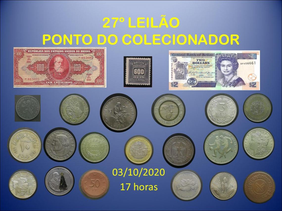 27º LEILÃO PONTO DO COLECIONADOR