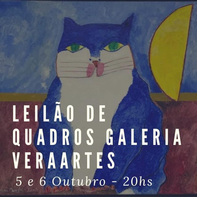 5º Leilão de Quadros - Galeria VeraArtes - 5 e 6 de outubro de 2020 - 20h