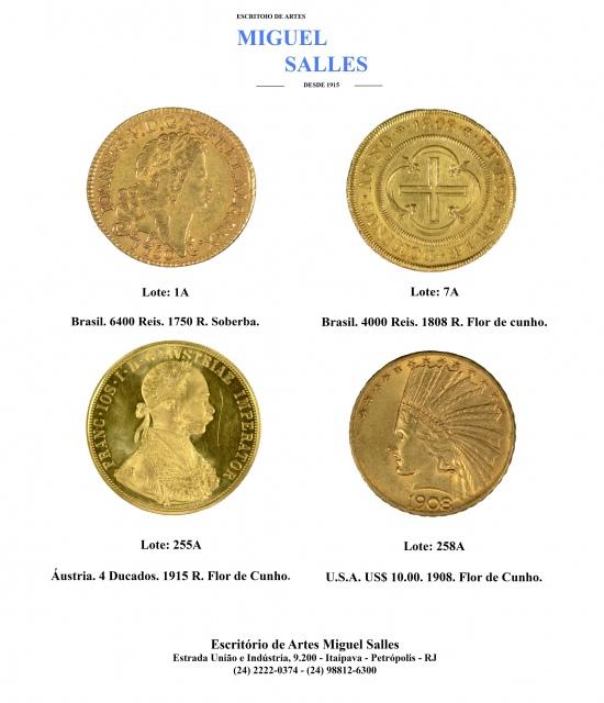 Leilão de Numismática Miguel Salles