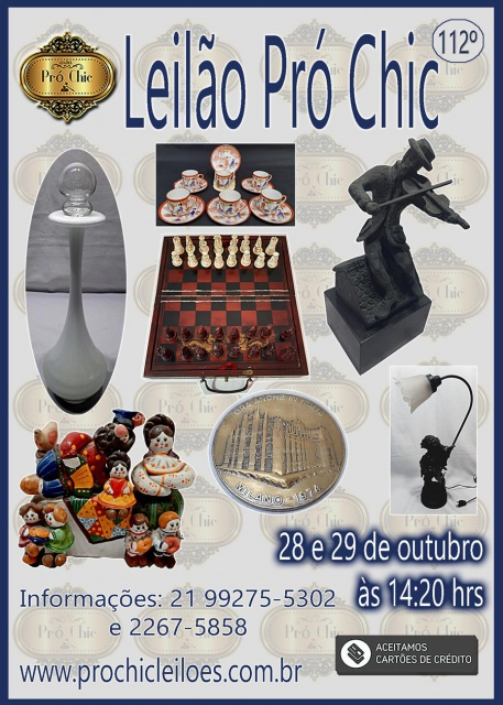 112º  Leilao Pro Chic