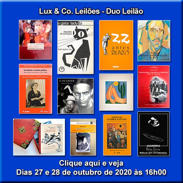 Lux & Co. Leilões - Duo Leilão - 27 e 28/10/2020 às 16h00