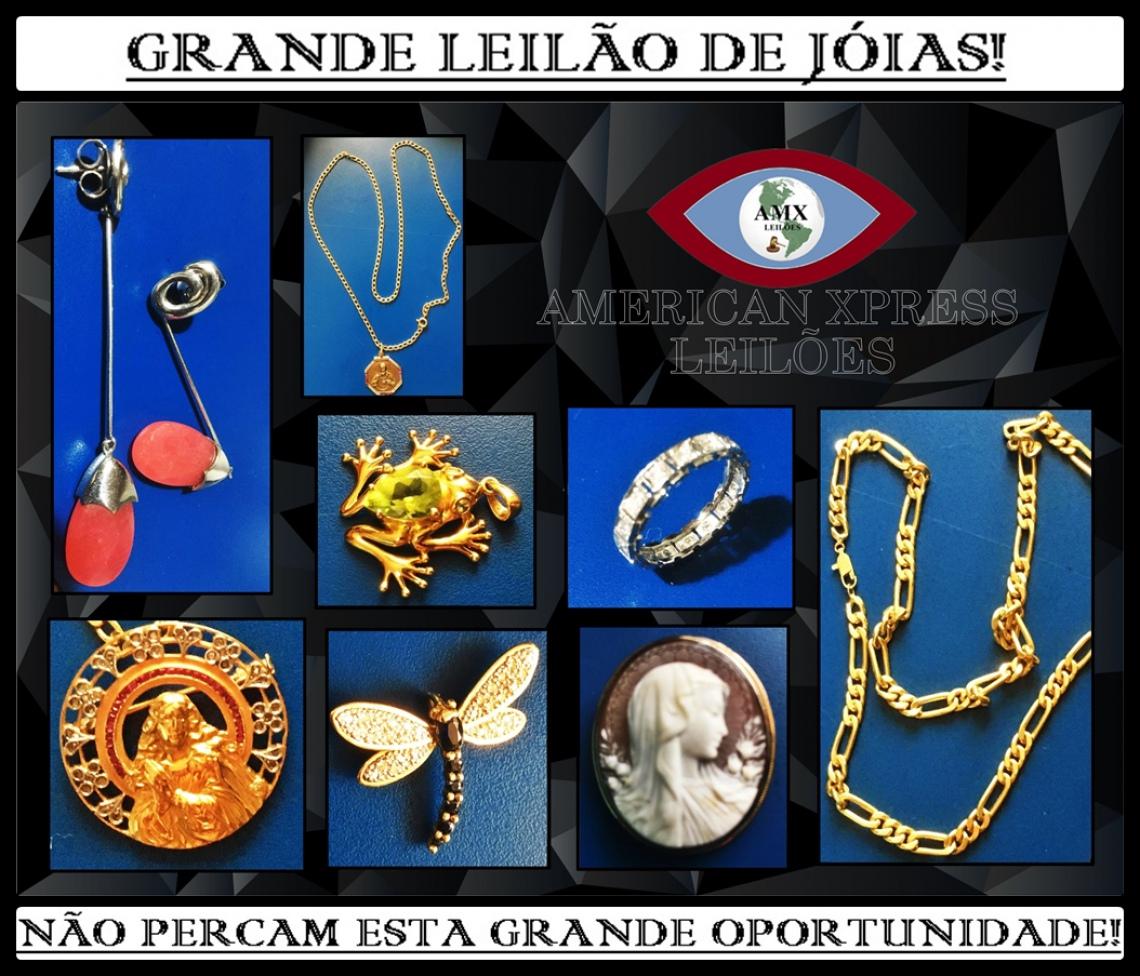 GRANDE LEILÃO DE JÓAIS!