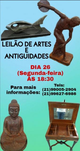 LEILÃO GALPÃO DE ARTE E ANTIGUIDADES